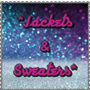 Jackets/ Sweaters/ Moto jackets/ Sequin Jackets